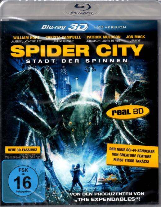 Spider City - Stadt Der Spinnen (2D & 3D Version)