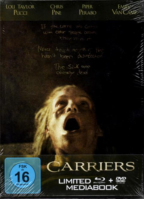 Carriers (12 Seitiges Booklet) (Limited Edition) (Mediabook)