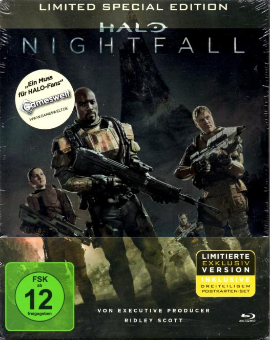 Halo - Nightfall (Limited Special Steelbox Edition)