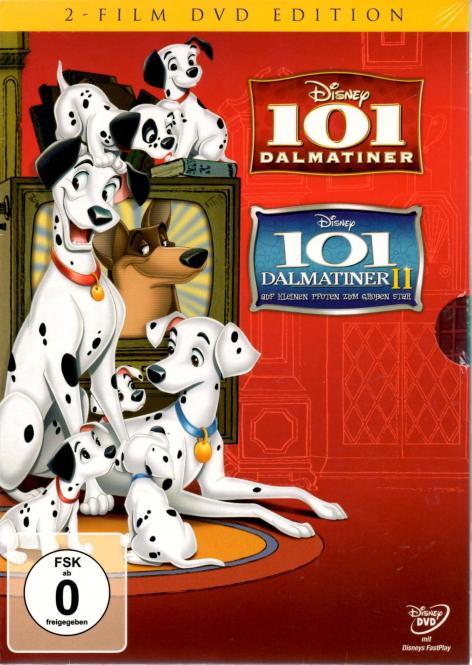 101 Dalmatiner 1 & 2 (Disney) (Animation) (2 Filme / 2 DVD)