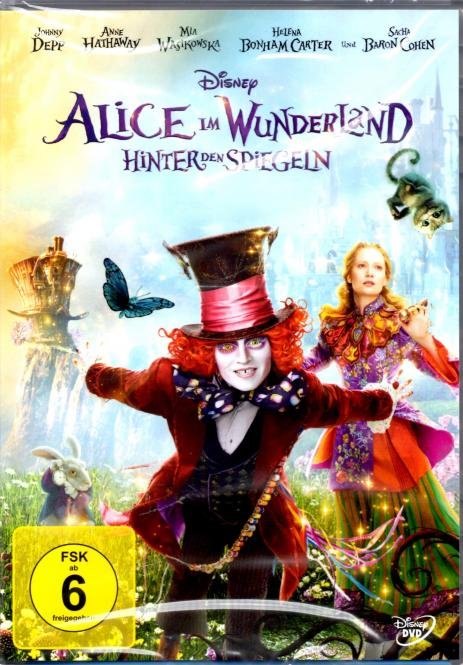 Alice Im Wunderland 2 - Hinter Den Spiegeln (Disney) (Real-Film)