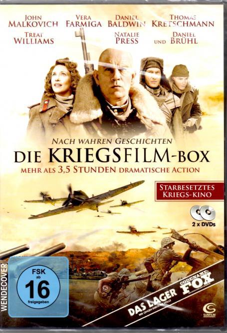 Die Kriegsfilm-Box (2 DVD) (Das Lager & Codename Fox)