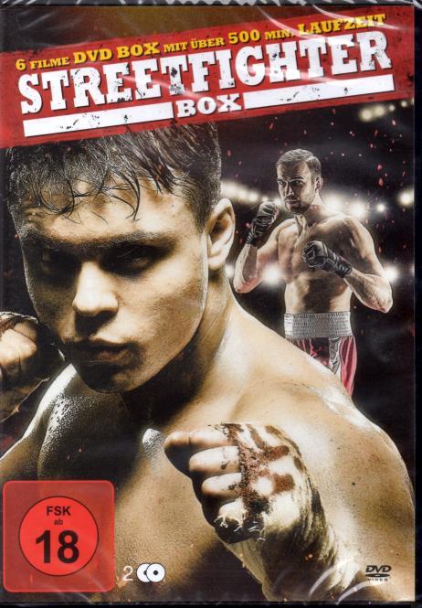 Streetfighter Box (6 Filme / 2 DVD)