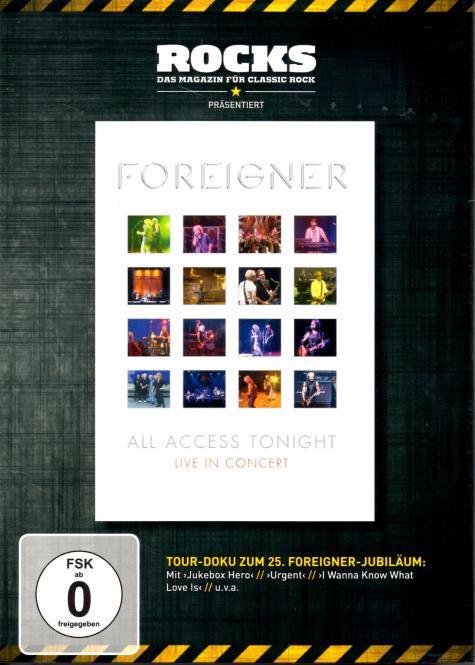 Foreigner - All Access Tonight / Live in Concert (Rocks Edition) (Rarität)