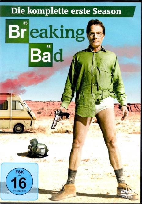 Breaking Bad - 1. Staffel (3 DVD) (Siehe Info unten)