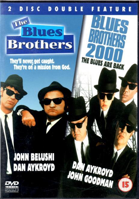 Blues Brothers 1 & 2 (2 DVD) (Kultfilm) (Deutscher Ton) (Siehe Info unten)