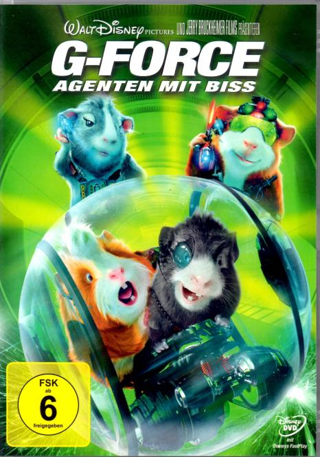 G Force (G-Force) - Agenten Mit Biss (Disney) (Animation)