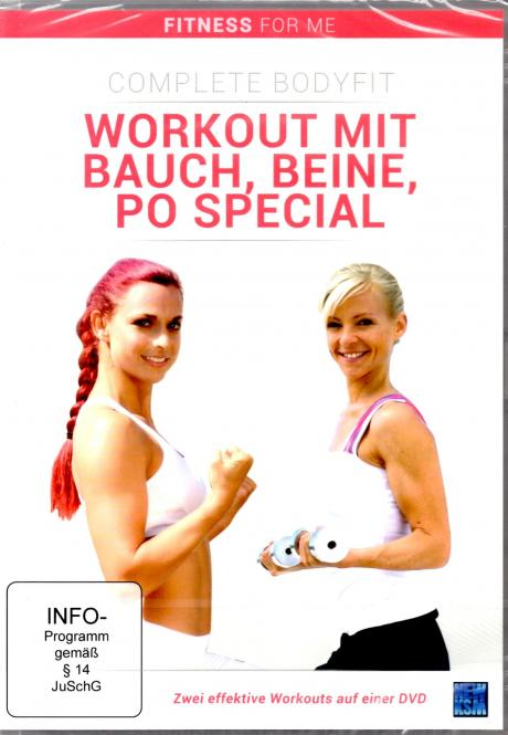 Workout Mit Bauch Beine Po Special (Fitness For Me)