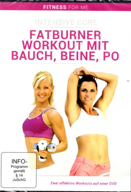 Fatburner Workout Mit Bauch Beine Po (Fitness For Me)