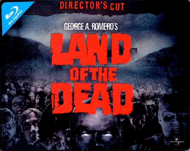 Land Of The Dead (Quer-Steelbox) (Directors Cut)