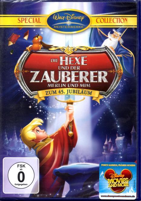 Die Hexe Und Der Zauberer - Merlin Und Mim (Disney)