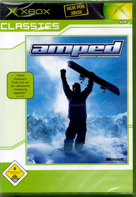 Amped - Freestyle Snowboard