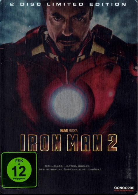Iron Man 2 (2 DVD) (Limited Edition) (Steelbox) (Siehe Info unten)