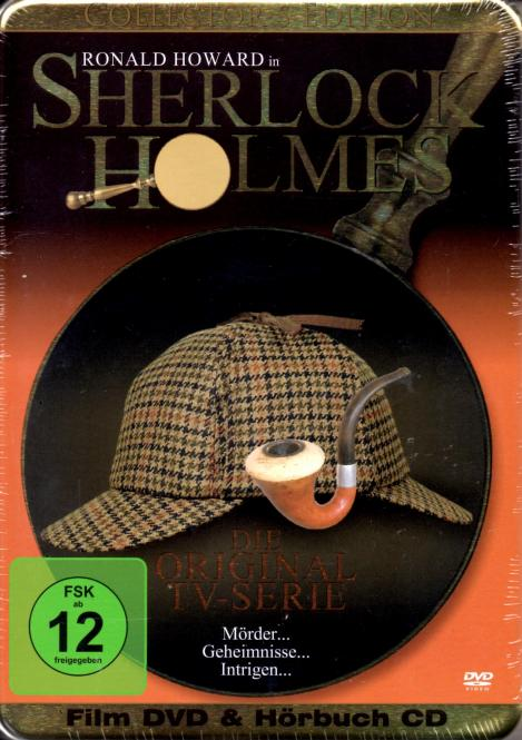 Sherlock Holmes - Original TV-Serie (DVD & Hörbuch-CD) (Collectors Steelbox Edition)
