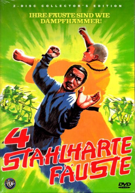 4 Stahlharte Fäuste (Kleine Hartbox) (2 DVD) (Limited Uncut Edition) (Rarität)
