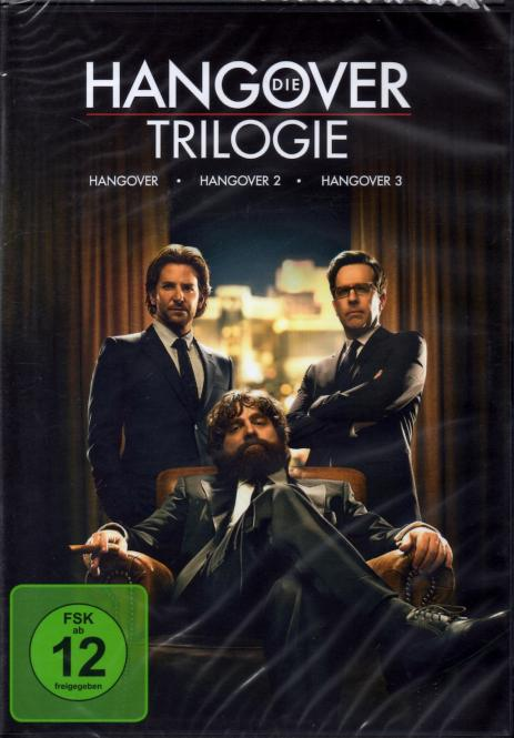 Die Hangover Trilogie (3 DVD)