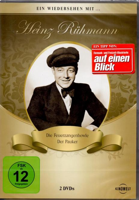 Heinz Rühmann Collection (Die Feuerzangenbowle & Der Pauker)