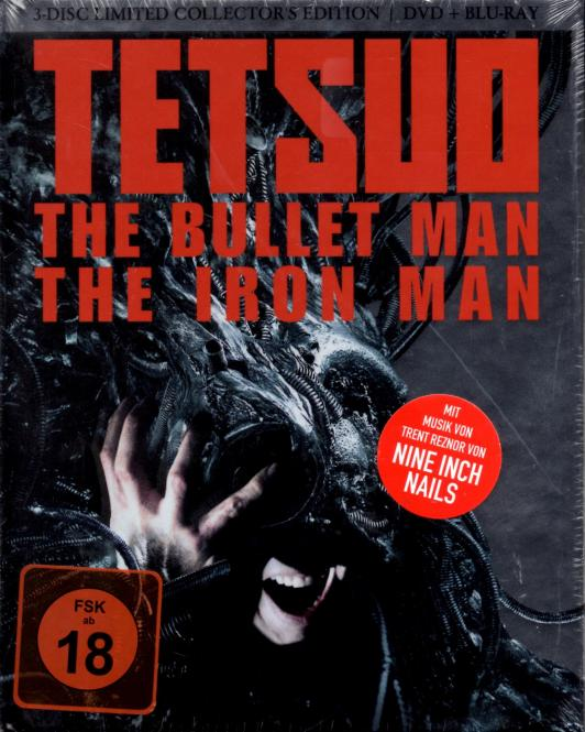 Tetsuo : The Bullet Man / The Iron Man (3 Disc) (Limited Uncut Mediabook)