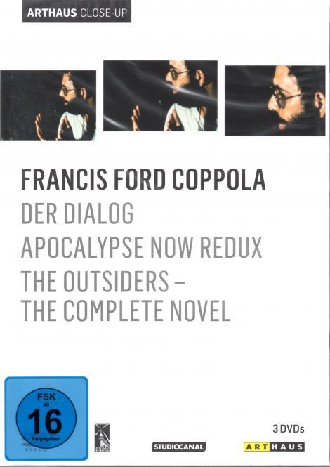 Francis Ford Coppola Box (3 DVD) (Der Dialog & Apocalypse Now Redux & The Outsiders)