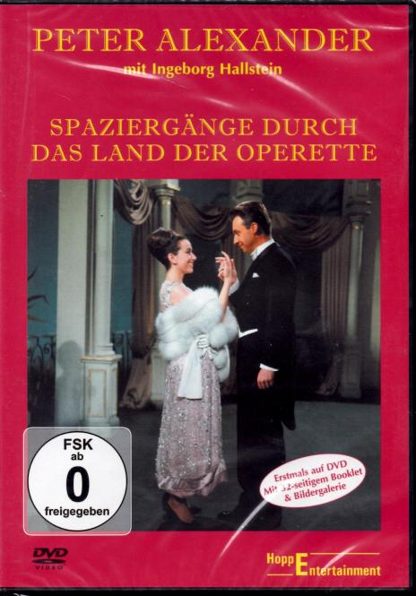 Peter Alexander - Spaziergänge Durch Das Land Der Operette (Mit 32 Seitigem Booklet & Bildergalerie)