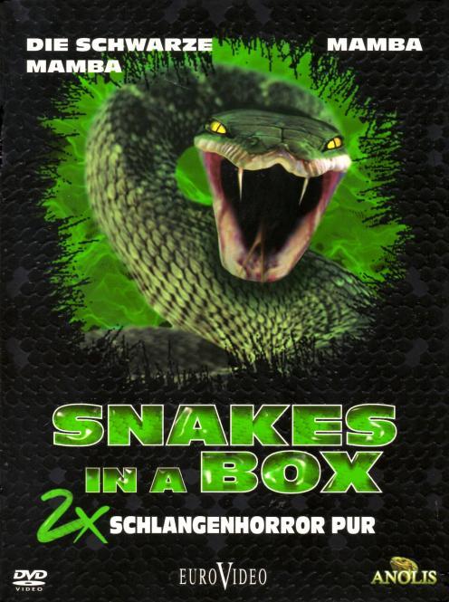 Snakes In A Box - 2 x Schlangenhorror Pur (Mamba & Die Schwarze Mamba) (2 DVD) (Siehe Info unten)