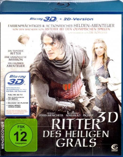 Ritter Des Heiligen Grals (2D & 3D Version)