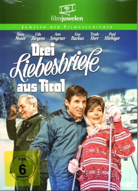 Drei Liebesbriefe Aus Tirol (Filmjuwel) (Mit Booklet)