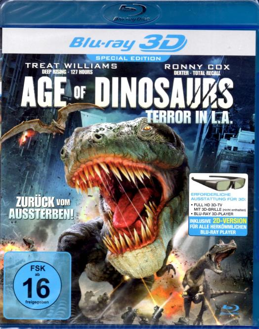 Age Of Dinosaurs - Terror In L.A. (2D & 3D Version) (Special Edition)