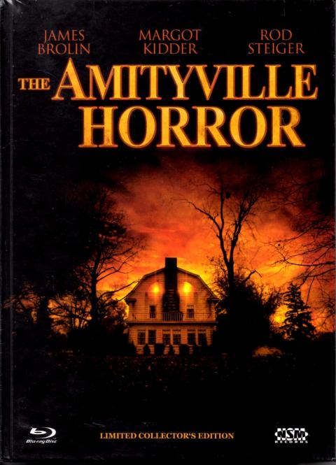 The Amityville Horror 1979 (Limited Uncut Mediabook) (Cover A) (Nummeriert 133/555 ODER 523/555) (Rarität) (Siehe Info unten)
