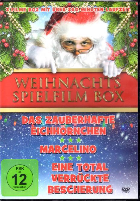 Weihnachts Spielfilm Box (Das Zauberhafte Eichhörnchen & Marcelino & Eine Total Verrückte Bescherung)