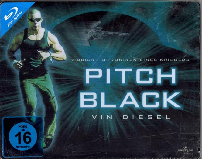 Pitch Black (1) (Limited Quer-Steelbox)