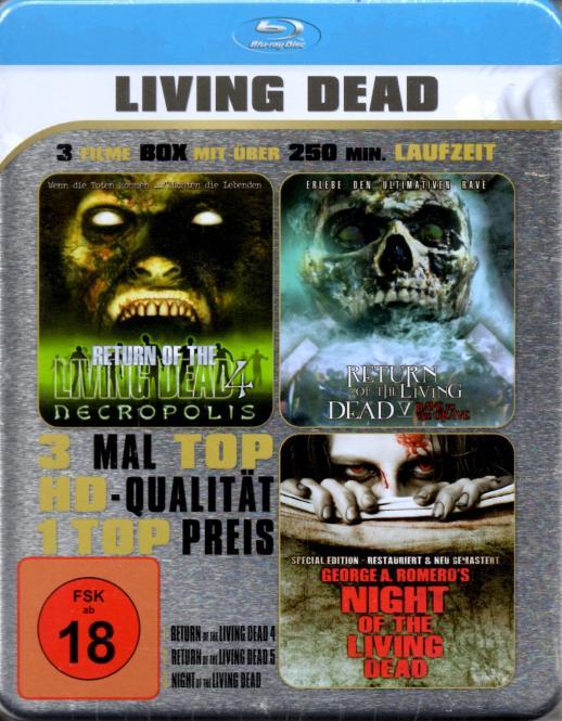 Living Dead - Box (Return Of The Living Dead 4 & Return Of The Living Dead 5 & Night Of The Living Dead)