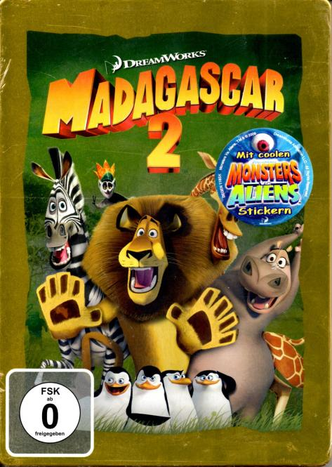 Madagascar 2 (Steelbox) (Animation)