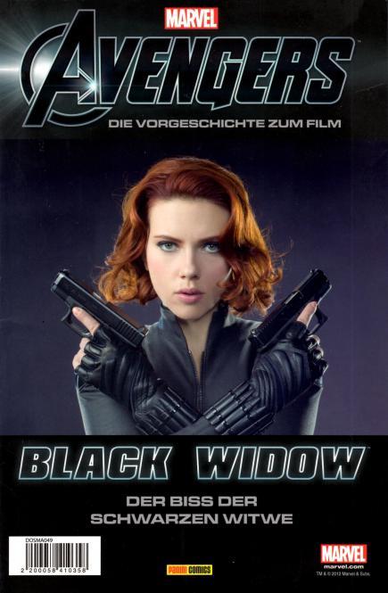 Marvel Avengers: Black Widow - Der Biss Der Schwarzen Witwe (Exklusive Limitierte Ausgabe) (Rarität)