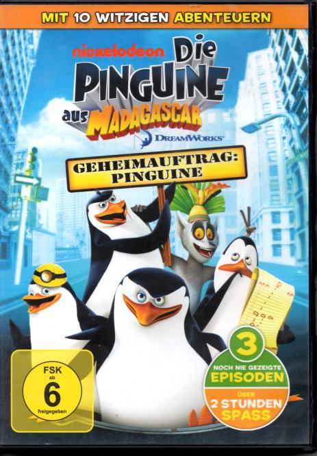 Geheimauftrag Pinguine (Die Pinguine Aus Dem Film Madagascar) (Animation)