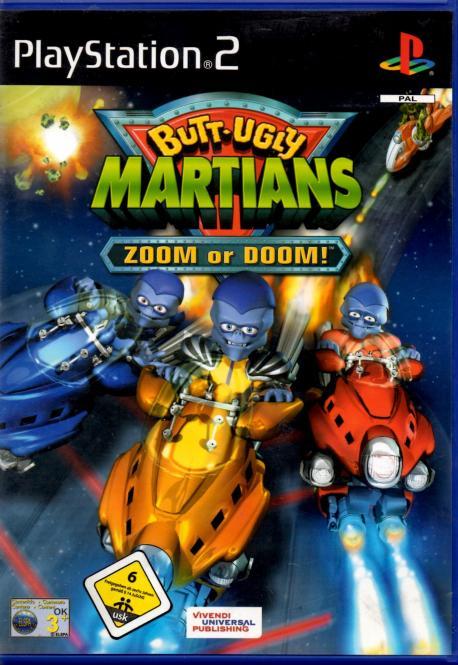 Butt - Ulgy Martians                                 Zomm Or Doom