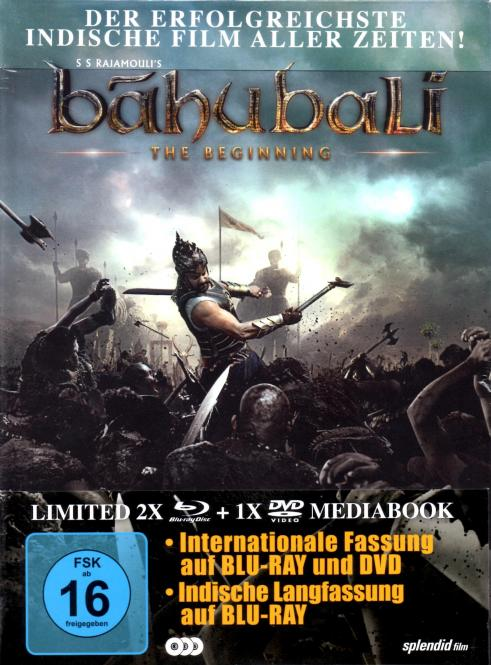 Bahubali - The Beginning (Limited Mediabook / 3 Disc-Set)