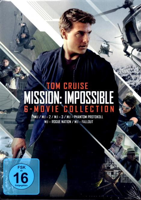 Mission Impossible - Die 6 Movie Collection (6 DVD)