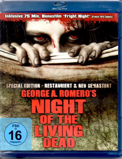 Night Of The Living Dead  & Fright Night (Special Edition)
