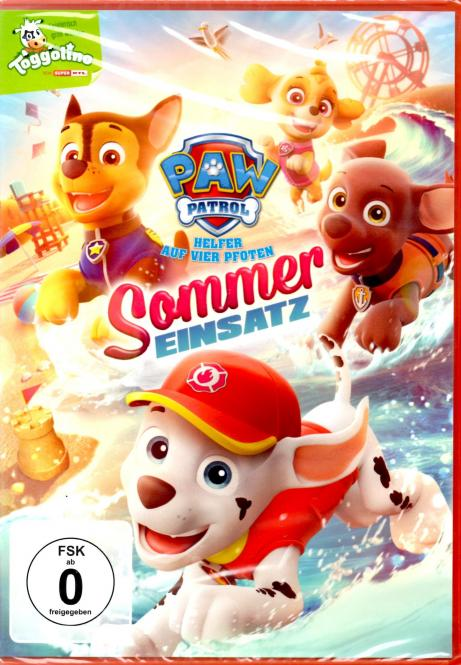 Paw Patrol - Sommer Einsatz (Animation)