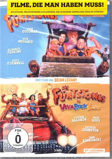 Flintstones 1 & 2 (2 Filme / 2 DVD)