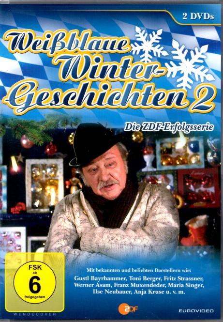 Weissblaue Wintergeschichten 2 (2 DVD) (8 Geschichten)