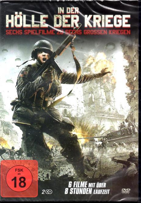 In Der Hölle Der Kriege (6 Filme / 2 DVD) (Rarität)