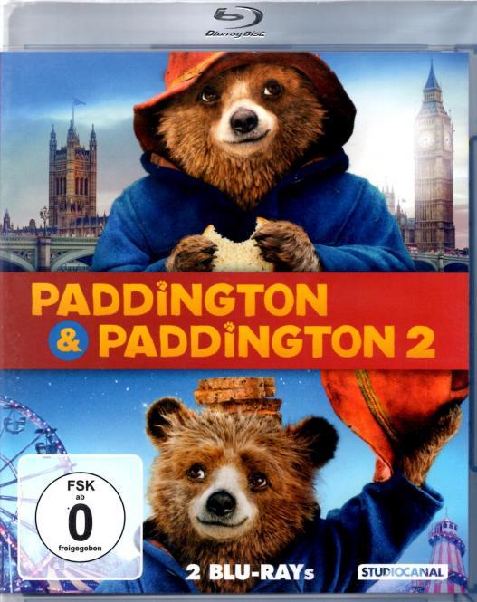 Paddington 1 & 2 (2 Disc)