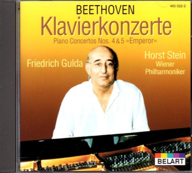 Beethoven: Klavierkonzerte Nr.4 & 5 (Emperor) (Siehe Info unten)
