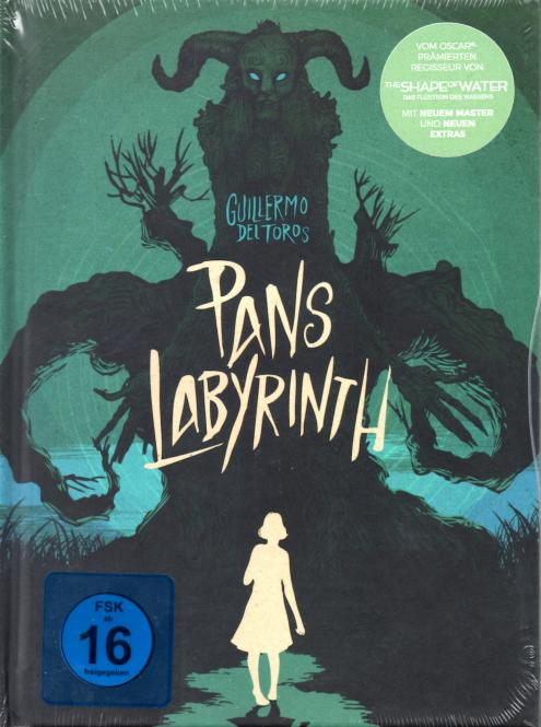 Pans Labyrinth (Limited Uncut Collectors Mediabook Edition) (1 DVD & 2 Blu Ray)