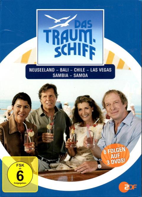 Das Traumschiff - Box 2 (3 DVD / 6 Folgen) (Siehe Info unten)