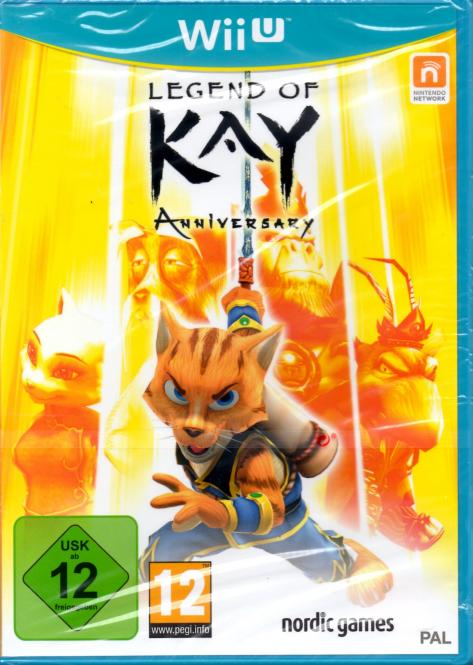 Legend Of Kay (WII U)