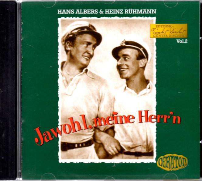 Jawohl Meine Herrn (Hans Albers & Heinz Rühmann) (Rarität)