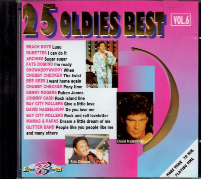 25 Oldies Best 6 (Siehe Info unten)